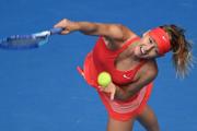莎拉波娃横扫布沙尔 晋级四强战马卡洛娃