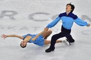 四大洲赛双人滑 我国选手摘得银铜牌