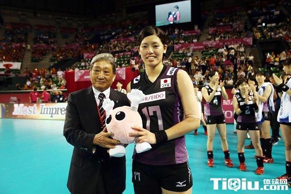 日本女排国手误服禁药 被暂时禁赛2个月