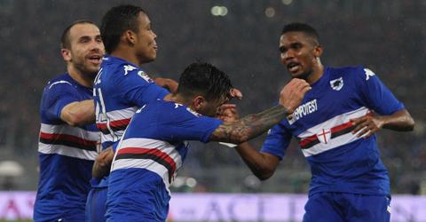 意甲-老猎豹献助攻 罗马0-2桑普多利亚