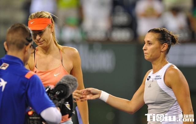莎娃输球不屑与佩内塔握手 佩内塔解析获胜原因