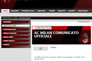 AC米兰新闻 米兰续约阿巴特至2019年