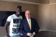 AC米兰官宣续约尼昂 合同延长至2019年