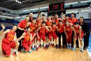 世青赛U19女篮大胜中华台北 晋级8强战澳洲