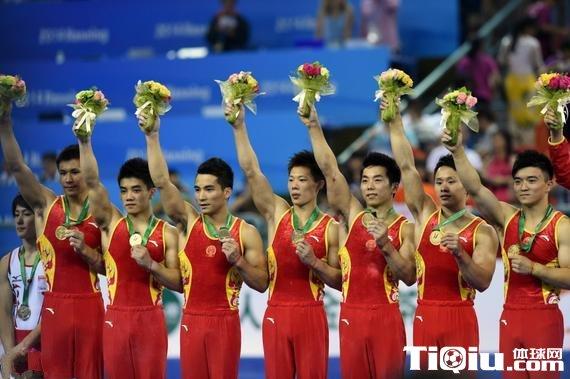 南宁世锦赛中国男团登顶