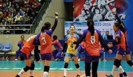 江苏女排3-2天津女排 小组赛战罢位列积分榜第一