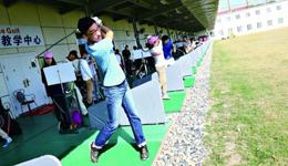 上海办大学生高球锦标赛 奥运高球项目受重视