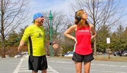 摘掉耳机跑步有助呼吸 避免受到安全威胁