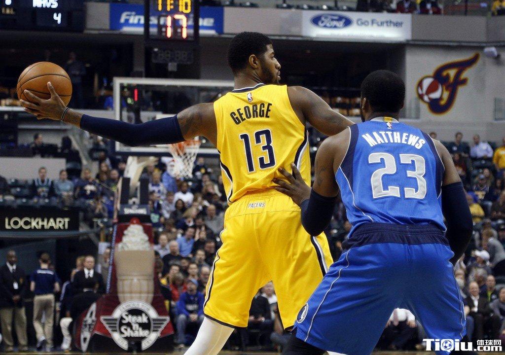 NBA常规赛步行者VS小牛