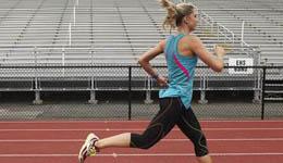 后跟着地膝盖痛 快速短跑减轻8成压力