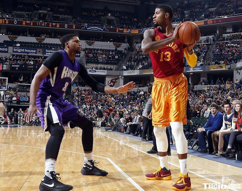 NBA常规赛步行者VS国王