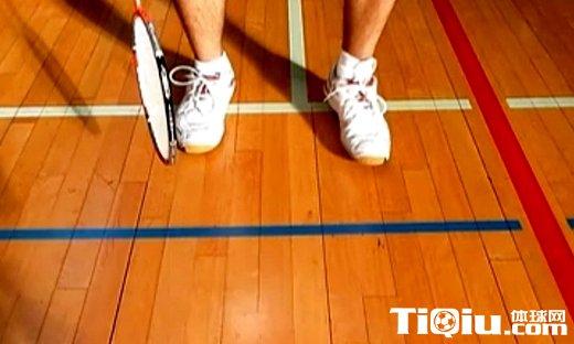 羽毛球基本步法 练习脚步打基础