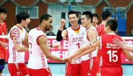 男排联赛复赛第18轮综述 北京队3-0胜上海队