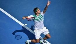 澳网公开赛男单1/4决赛 费德勒3-0胜伯蒂奇