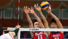 男排联赛半决赛 北京队3-1胜四川队晋级决赛