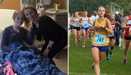 高中女跑者患癌 队员老师鼓励恢复