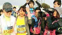 女主播跑东京马拉松 �G崎里菜曾当夜陪惹非议