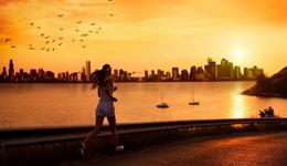 黄昏是跑步健身最好 雾霾天跑步危害大