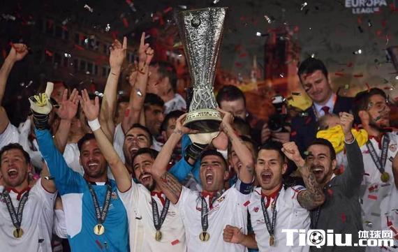 塞维利亚夺冠 西甲再现5支球参加欧冠