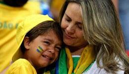 令人落泪和伤情 昔日巴西王者风范不复存在