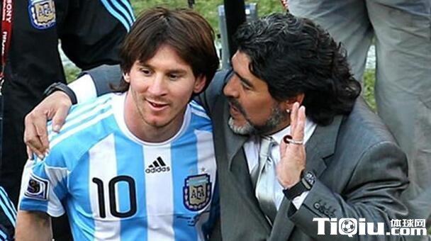 马拉多纳贬低梅西统领的阿根廷:不如当年我的