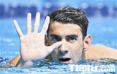 菲鱼获里约参赛资格 书写世界泳坛新的里程碑