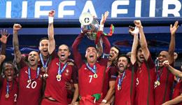 2016欧洲杯 各奖项归属和新纪录