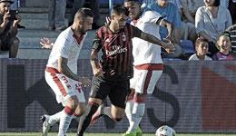 友谊赛AC米兰2-1波尔多 苏索梅开二度
