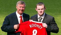 弗格森对鲁尼赞赏有加 鲁尼是曼联的传奇球员