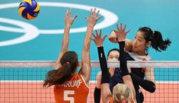 女排奥运首战遭逆转2-3荷兰 决胜局2分惜败