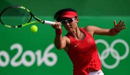 里约网球项目爆冷 郑赛赛淘汰拉德万斯卡