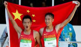 超默契的配合消耗对手 中国竞走王镇蔡泽林揽冠亚军