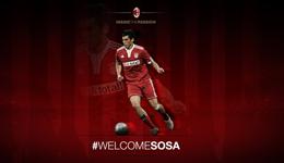 AC米兰宣布签下阿根廷中场索萨 为期两年