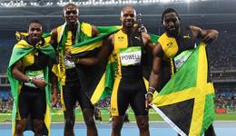4x100博尔特率领牙买加三连冠 美国犯规中国第4