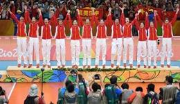 女排3-1塞尔维亚夺冠 第3次夺得奥运金牌