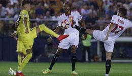 比利亚雷亚尔0-0平塞维利亚 全场均无进球帕托伤退