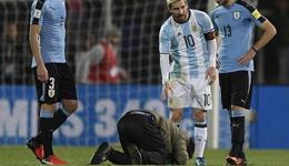 世预赛梅西再次遭球迷膜拜
