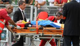 意甲米兰0:1不敌那不勒斯 主力重伤退场