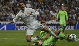 欧冠皇马2-1逆转里斯本竞技 C罗破门莫拉塔绝杀