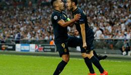欧冠热刺主场1-2摩纳哥 席尔瓦勒马尔破门