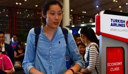朱婷启程前往土耳其 十月份将迎来首秀比赛