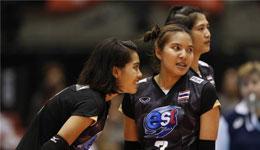 女排亚洲杯半决赛泰国vs中国 哈萨克斯坦vs日本争夺决赛权