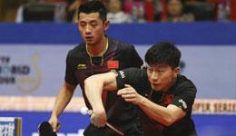 2016中国公开赛 马龙张继科及陈梦朱雨玲分获男女双冠军