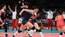中国女排奥运会决赛视频 2016奥运女排1/4决赛视频回放