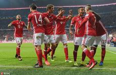 德甲拜仁3:0柏林赫塔 积分榜首位重回手中