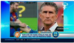 阿根廷主帅声讨巴萨 世预赛没梅西怎么搞