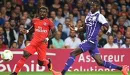 巴黎客场0-2图卢兹 奥利耶送点并染红