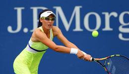 WTA武汉赛郑赛赛0-2不敌舍夫多娃 遗憾首轮出局