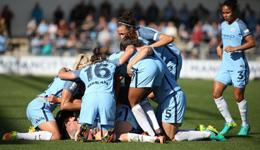 曼城女足力压切尔西首夺英足总联赛冠军