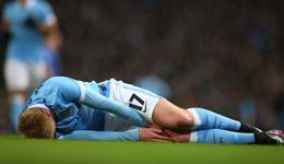 德布劳内因伤将休战 或错过欧冠对阵巴萨